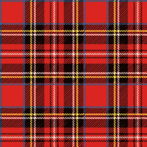 Lunch Servietten Scottish Red