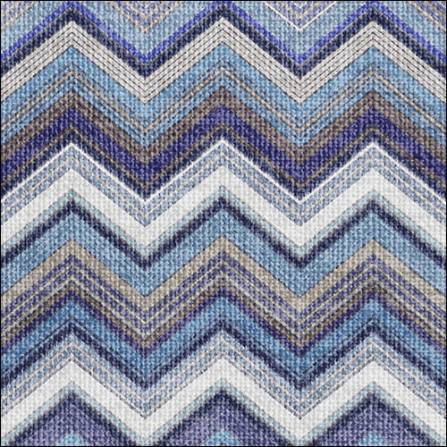 Lunch Servietten Textured Chevron Blue,  Sonstiges - Muster,  Everyday,  lunchservietten,  Zacken,  Muster