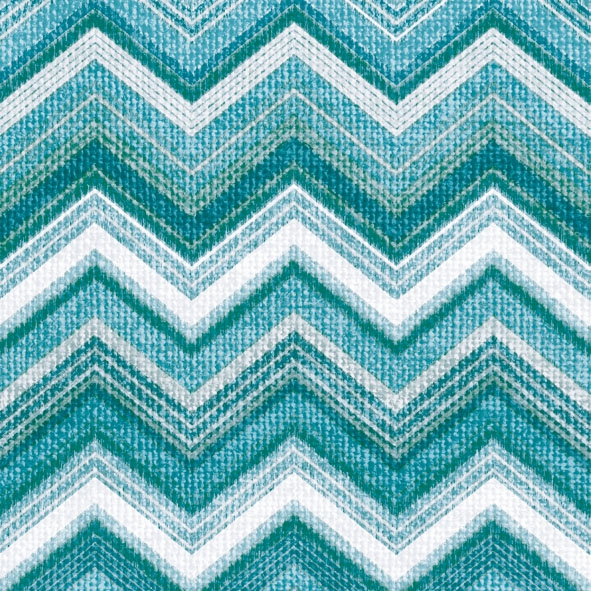 Lunch Servietten Textured Chevron Petrol,  Sonstiges - Muster,  Everyday,  lunchservietten,  Zacken,  Muster