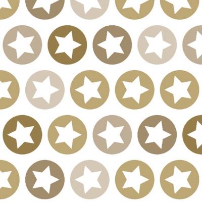 Lunch Servietten Shining Stars gold,  Weihnachten - Sterne,  Weihnachten,  lunchservietten,  Sterne