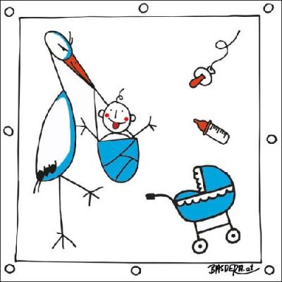 Motivservietten Gesamtübersicht,  Ereignisse - Geburt,  Everyday,  lunchservietten,  Baby,  Geburt,  Jungen
