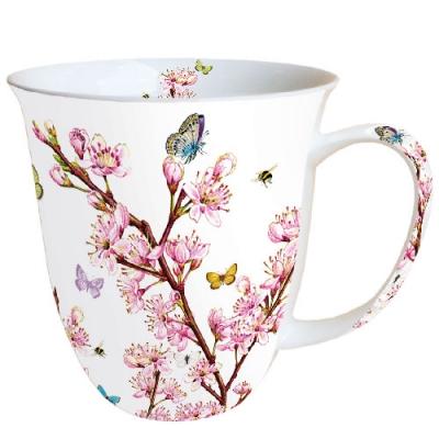 Porzellan-Henkelbecher Blossom,  Tassen,  Blüten