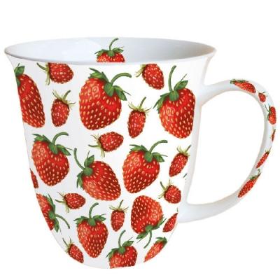 Porzellan / Ambiente,  Tassen,  Erdbeeren