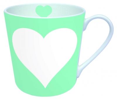 Porzellan Tassen,  Herzen