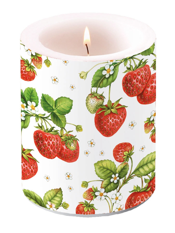 Kerze STRAWBERRY PLANT