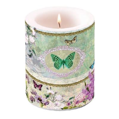 Servietten Blumenmotive,  Schmetterlinge,  Blumen