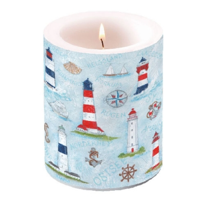 Kerze Maritime Ornaments,