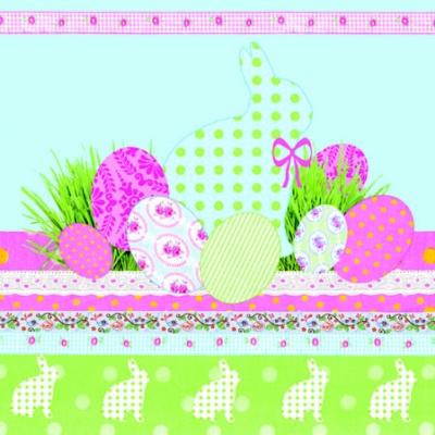 Frühjahr / Ostern,  Ostern - Hasen,  Ostern - Ostereier,  Ostern,  cocktail servietten,  Hasen,  Eier