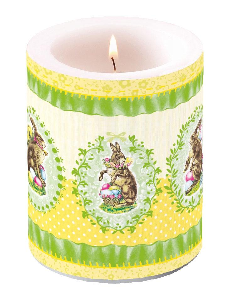 Kerze Nostalgic Easter Yellow,