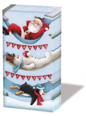 Taschentücher Relaxing Christmas
