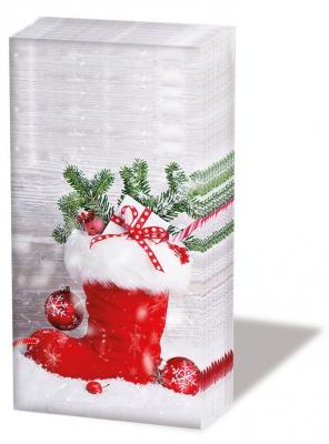 Taschentücher Santas Boot