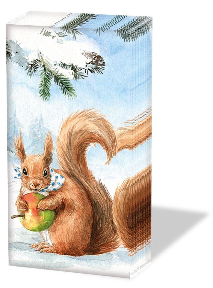 Taschentücher Squirrel Love