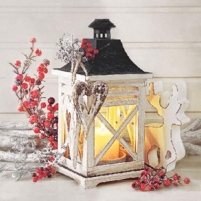 Lunch Servietten Lantern,  Weihnachten,  Weihnachten,  lunchservietten,  Laterne
