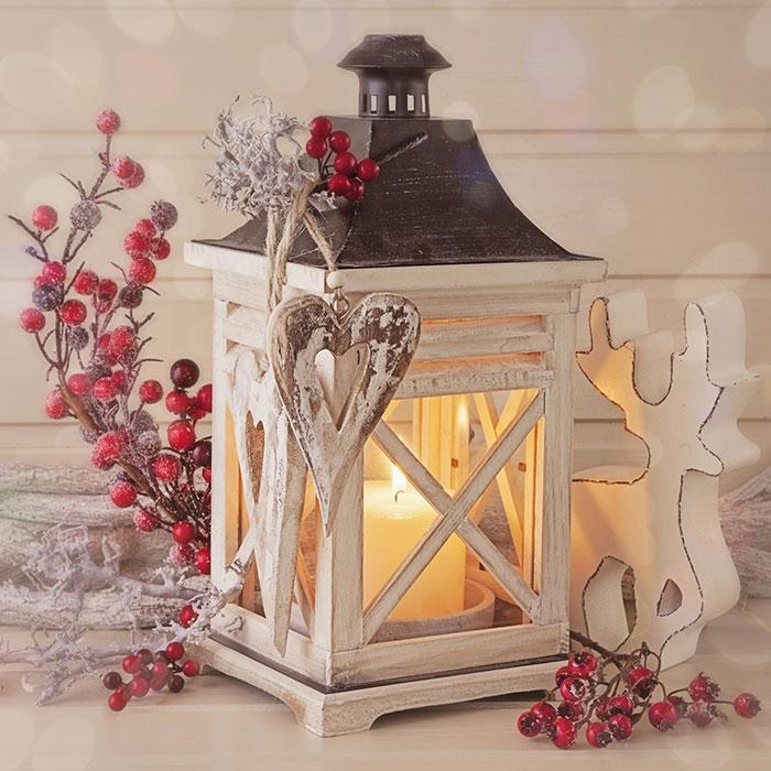 Servietten 33x33 cm - Romantischer Winter