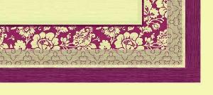 Tischdecken,  Blumen,  Rand