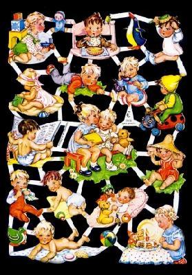 Glanzbilder Babys,50er Jahre,  Glanzbilder,  Glanzbilder,  Kinder,  Baby