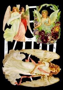 Glanzbilder 3 Engelmotive,Jugendtraum,  Engel,  Glanzbilder,  Glanzbilder,  Engel