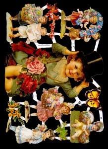 Glanzbilder Kinder,Jugendtraum,  Glanzbilder,  Glanzbilder