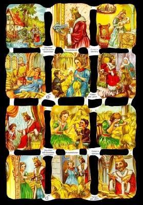 Glanzbilder Rumpelstilzchen I,50er J.,  Glanzbilder,  Glanzbilder,  Rumpelstilzchen