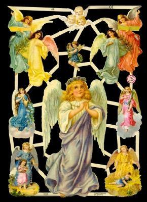 Glanzbilder Engel,Jugendtraum,  Glanzbilder,  Glanzbilder,  Engel