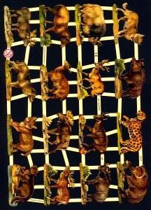 Glanzbilder Wilde Tiere II,Jugendtraum