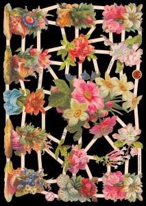 Glanzbilder Blumen,Jugendtraum,  Glanzbilder,  Glanzbilder