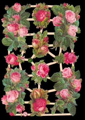 Glanzbilder Rosen,  Glanzbilder,  Glanzbilder