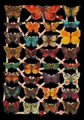 Glanzbilder mit Glimmer Schmetterlinge,  Glanzbilder mit Glimmer,  Tiere,  Schmetterlinge