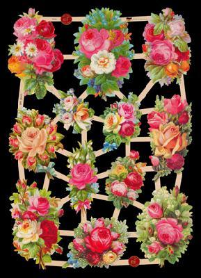 Glanzbilder Rosen,  Glanzbilder,  Blumen,  Rosen