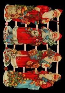 Glanzbilder Weihnachtsmann,  Glanzbilder,  Glanzbilder