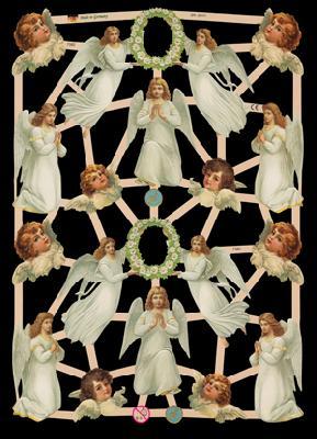 Glanzbilder Engel,  Glanzbilder,  Glanzbilder