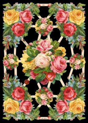 Poesiebilder / Glanzbilder,  Glanzbilder,  Blumen,  Everyday,  Rosen