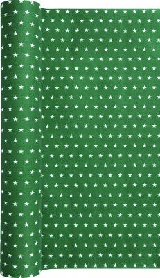 Airlaid Produkte - aus hochwertigen Airlaid-Vlies - fast so wie aus Stoff !,  Sterne,  grün