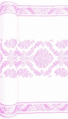 Tischläufer Elegant rose,  Ornamente,  rosa