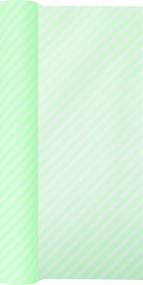 Tischläufer Side Stripes green,  Streifen