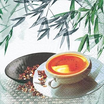 Cocktail Servietten Tea Atmosphere,  Getränke Kaffee / Tee,  Everyday,  cocktail servietten,  Tee,  Bambus