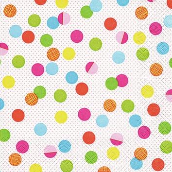 Cocktail Servietten Party Dots