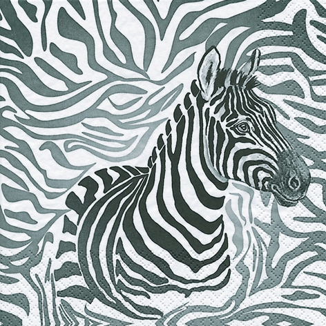 Lunch Servietten Zebra,  Tiere - Zebras,  Everyday,  lunchservietten