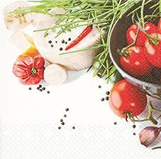 Home Fashion,  Gemüse -  Sonstiges,  Pflanzen - Küchenkräuter,  Gemüse - Tomaten,  Everyday,  lunchservietten