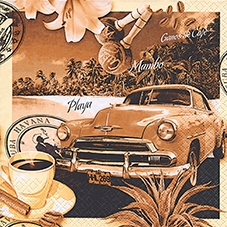 Everyday,  Getränke Kaffee / Tee,  Fahrzeuge - Autos,  Everyday,  lunchservietten