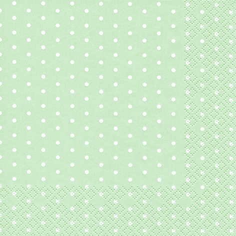 Lunch Servietten Mini Dots pastel green,  Sonstiges - Muster,  Everyday,  lunchservietten,  Punkte
