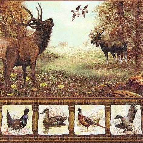 Servietten / Reh - Hirsch,  Tiere - Reh / Hirsch,  Tiere - Vögel,  Everyday,  lunchservietten,  Hirsch,  Elch,  Enten,  Fasan,  Wald