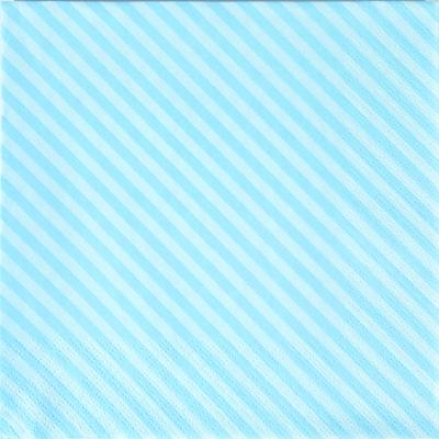 Lunch Servietten Side Stripes blue,  Sonstiges - Muster,  Everyday,  lunchservietten,  Linien,  Streifen,  blau
