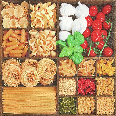 Everyday,  Essen - Pasta,  Everyday,  lunchservietten,  Nudeln