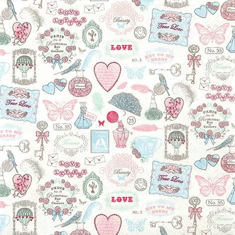 Everyday,  Ereignisse - Liebe,  Everyday,  lunchservietten,  Herzen,  Schmetterlinge,  Liebe