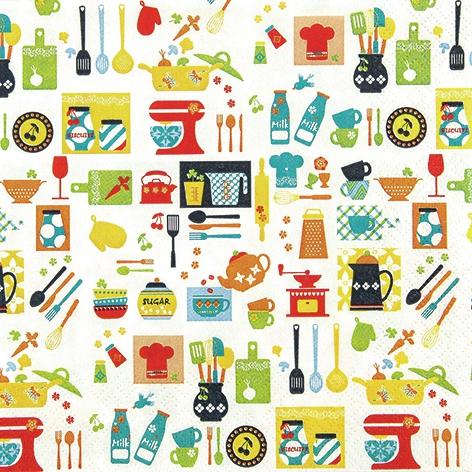 Home Fashion,  Sonstiges -  Sonstiges,  Everyday,  lunchservietten,  Besteck,  Küche