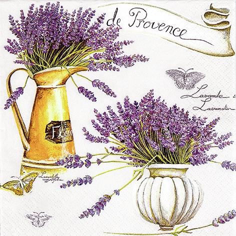 Servietten Everyday,  Blumen - Lavendel,  Everyday,  lunchservietten,  Lavendel