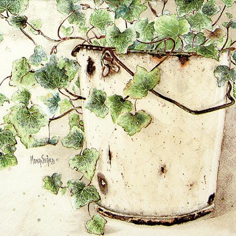Lunch Servietten Ivy,  Pflanzen - Efeu,  Everyday,  lunchservietten,  Efeu