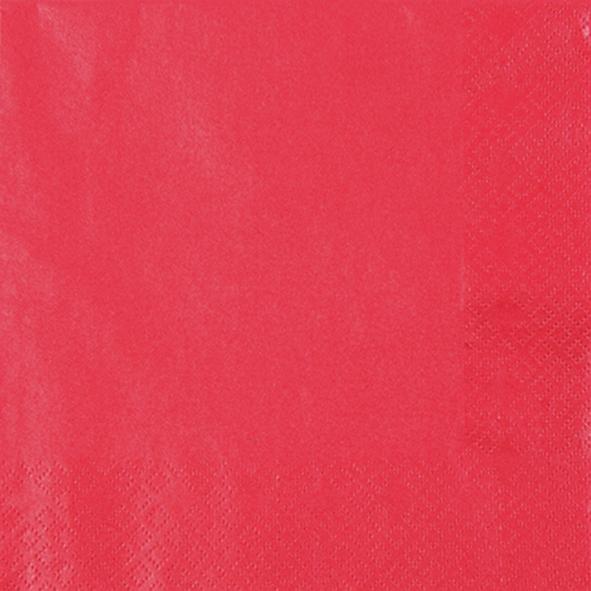 Servietten 25 x 25 cm, dinnerservietten,  rot