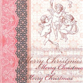 Motivservietten Gesamtübersicht,  Weihnachten - Engel,  Weihnachten,  cocktail servietten,  Engel,  Ornamente